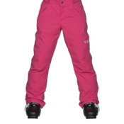 The North Face Freedom Insulated Girls Ski Pants, Cabaret Pink, medium