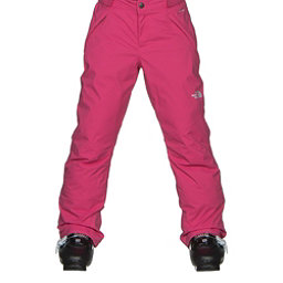The North Face Freedom Insulated Girls Ski Pants, Cabaret Pink, 256
