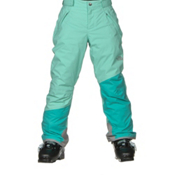 The North Face Freedom Insulated Girls Ski Pants, Ice Green, medium