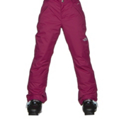 The North Face Freedom Insulated Girls Ski Pants, Roxbury Pink, medium