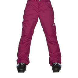 The North Face Freedom Insulated Girls Ski Pants, Roxbury Pink, 256