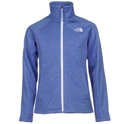 The North Face Arcata Full Zip Girls Jacket (Previous Season), Grapemist Blue Heather, 256
