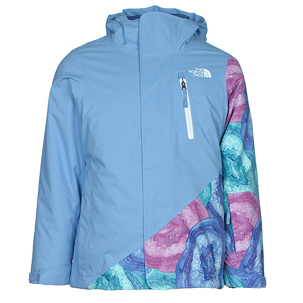 The North Face Abbey Triclimate Girls Ski Jacket, Grapemist Blue, 600
