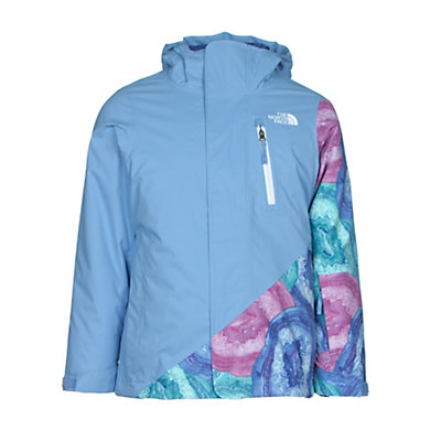The North Face Abbey Triclimate Girls Ski Jacket, Grapemist Blue, viewer