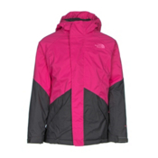 The North Face Kira Triclimate Girls Ski Jacket, Cabaret Pink, medium