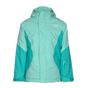 The North Face Kira Triclimate Girls Ski Jacket, Ice Green, medium