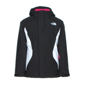 The North Face Kira Triclimate Girls Ski Jacket, TNF Black, medium