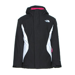 The North Face Kira Triclimate Girls Ski Jacket, TNF Black, 256