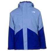 The North Face Kira Triclimate Girls Ski Jacket, Grapemist Blue, medium