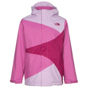 The North Face Mountain View Triclimate Girls Ski Jacket, Lupine, medium