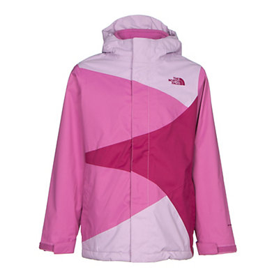 The North Face Mountain View Triclimate Girls Ski Jacket, Lupine, viewer
