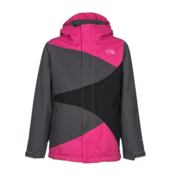 The North Face Mountain View Triclimate Girls Ski Jacket, Cabaret Pink, medium