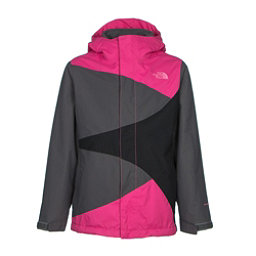 The North Face Mountain View Triclimate Girls Ski Jacket, Cabaret Pink, 256