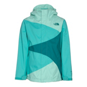 The North Face Mountain View Triclimate Girls Ski Jacket, Ice Green, medium