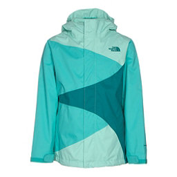 The North Face Mountain View Triclimate Girls Ski Jacket, Ice Green, 256
