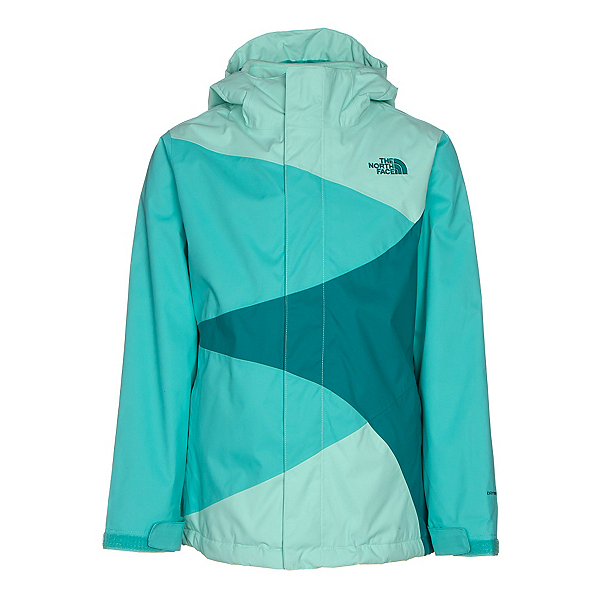 The North Face Mountain View Triclimate Girls Ski Jacket (Previous Season), Ice Green, 600