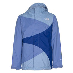 The North Face Mountain View Triclimate Girls Ski Jacket, Grapemist Blue, 256