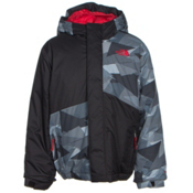 The North Face Calisto Insulated Toddler Ski Jacket, TNF Black Geo Camo, medium