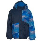 The North Face Calisto Insulated Toddler Ski Jacket, Jake Blue Geo Camo, medium