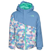 The North Face Casie Insulated Toddler Girls Ski Jacket, Grapemist Blue, medium