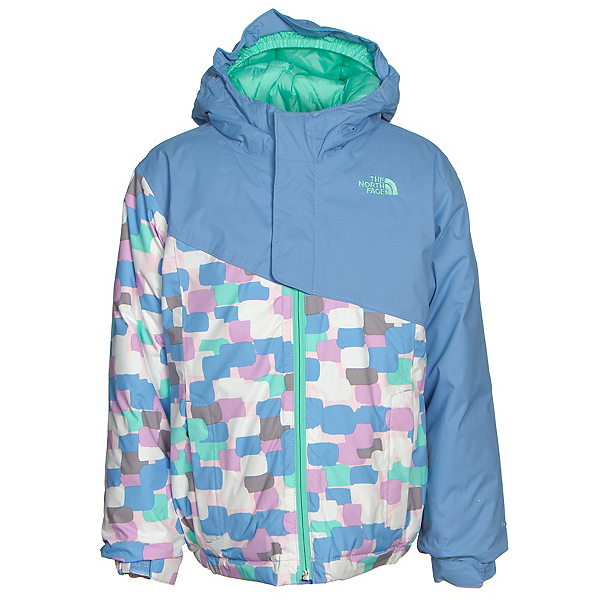 The North Face Casie Insulated Toddler Girls Ski Jacket, Grapemist Blue, 600