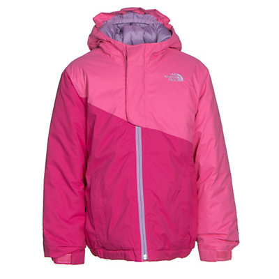 The North Face Casie Insulated Toddler Girls Ski Jacket, Cha Cha Pink, viewer