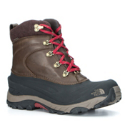The North Face Chilkat II Luxe Mens Boots, Coffee Brown-Shroom Brown, medium