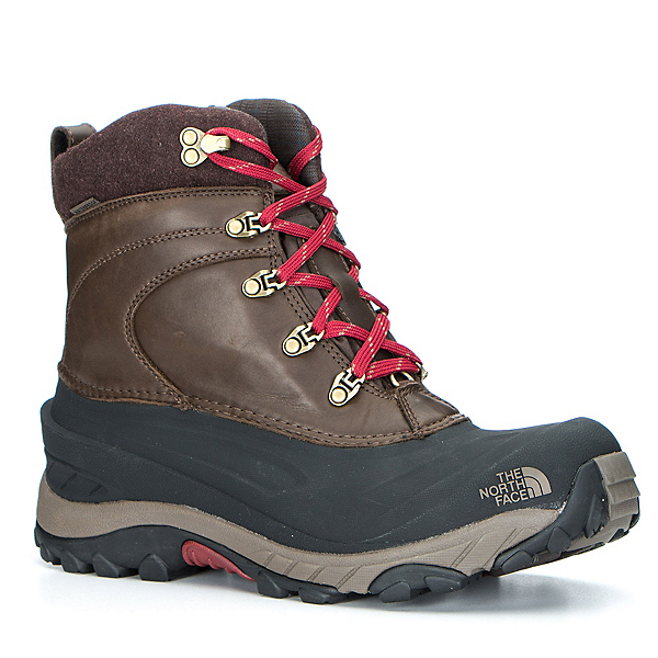 The North Face Chilkat II Luxe Mens Boots, Coffee Brown-Shroom Brown, 600