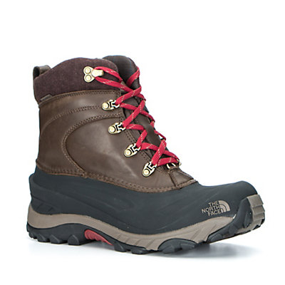 The North Face Chilkat II Luxe Mens Boots, TNF Black-Zinc Grey, viewer
