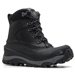The North Face Chilkat II Luxe Mens Boots, TNF Black-Zinc Grey, 256