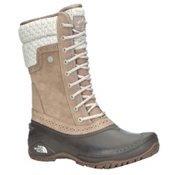The North Face Shellista II Mid Womens Boots, Split Rock Brown-Dove Grey, medium