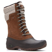 The North Face Shellista II Mid Womens Boots, Dachshund Brown-Demitasse Brow, medium
