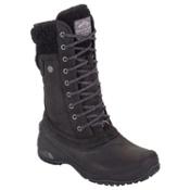 The North Face Shellista II Mid Womens Boots, TNF Black-Plum Kitten Grey, medium