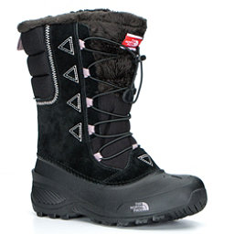 The North Face Shellista Lace II Kids Boots, TNF Black-Quail Grey, 256