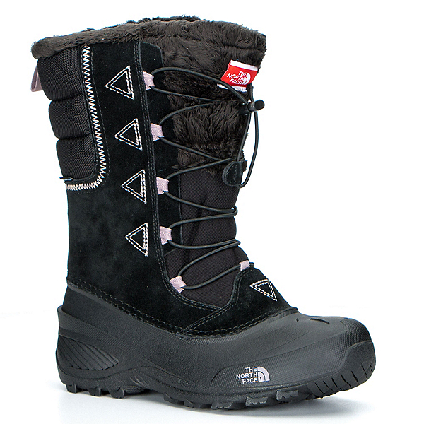 The North Face Shellista Lace II Kids Boots, TNF Black-Quail Grey, 600