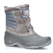 The North Face Shellista II Shorty Womens Boots, Dark Gull Grey-Cloud Grey, medium