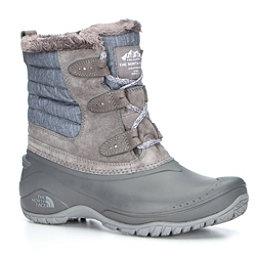 The North Face Shellista II Shorty Womens Boots, Dark Gull Grey-Cloud Grey, 256