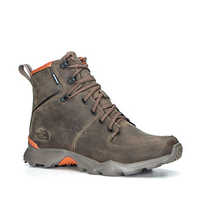 The North Face Thermoball Versa Mens Boots, Weimaraner Brown-Bombay Orange, viewer