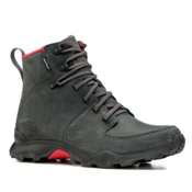 The North Face Thermoball Versa Mens Boots, Dark Shadow Grey-TNF Red, medium
