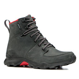 The North Face Thermoball Versa Mens Boots, Dark Shadow Grey-TNF Red, 256