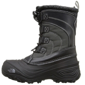 The North Face Alpenglow IV Kids Boots, TNF Black-TNF Black, medium