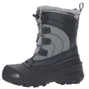 The North Face Alpenglow IV Kids Boots, Griffin Grey-Zinc Grey, medium