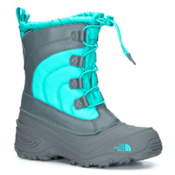 The North Face Alpenglow IV Girls Boots, Dark Shadow Grey-Ion Blue, medium