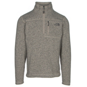 The North Face Gordon Lyons 1/4 Zip Mens Sweater, Dune Beige Heather, medium