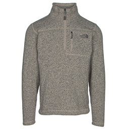 The North Face Gordon Lyons 1/4 Zip Mens Sweater, Dune Beige Heather, 256