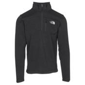 The North Face Gordon Lyons 1/4 Zip Mens Sweater, TNF Black Heather, medium