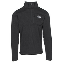 The North Face Gordon Lyons 1/4 Zip Mens Sweater, TNF Black Heather, 256