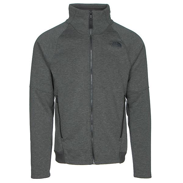 The North Face Far Northern Full Zip Mens Jacket, Asphalt Grey Heather-Asphalt G, 600