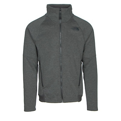 The North Face Far Northern Full Zip Mens Jacket, Asphalt Grey Heather-Asphalt G, viewer