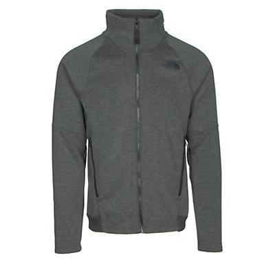 The North Face Far Northern Full Zip Mens Jacket, Asphalt Grey Heather-Asphalt G, viewer